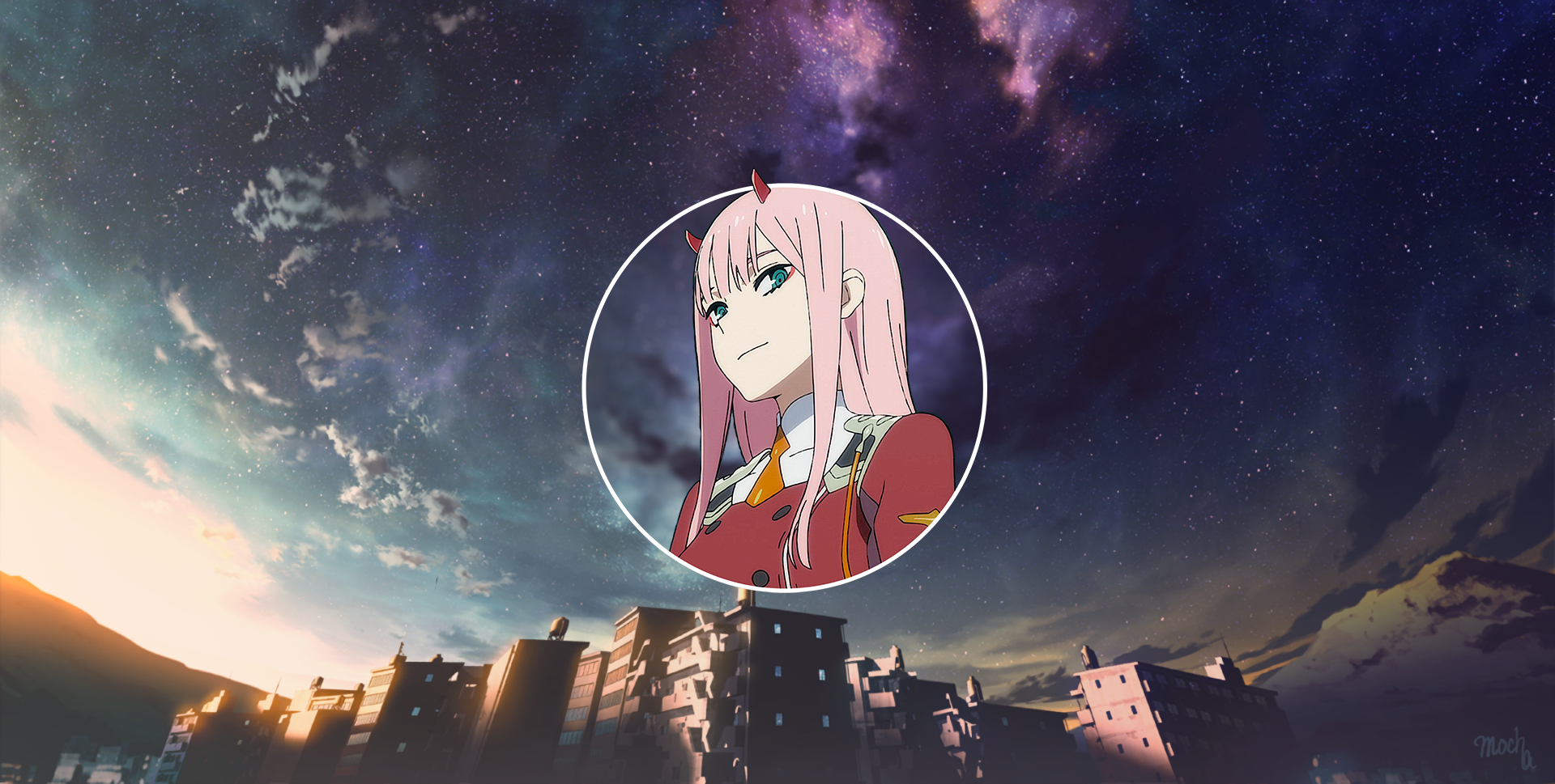 1920x969 Zero Two Wallpaper Background Image View Download Comment And Rate Wallpaper Abyss Darling In The Franxx Background Images Anime Wallpaper