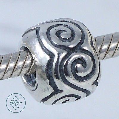 Sterling Silver - PANDORA Large Swirls Bead (Retired) - Charm 790228 https://t.co/daprddpGZm https://t.co/iLeMLGvEt1