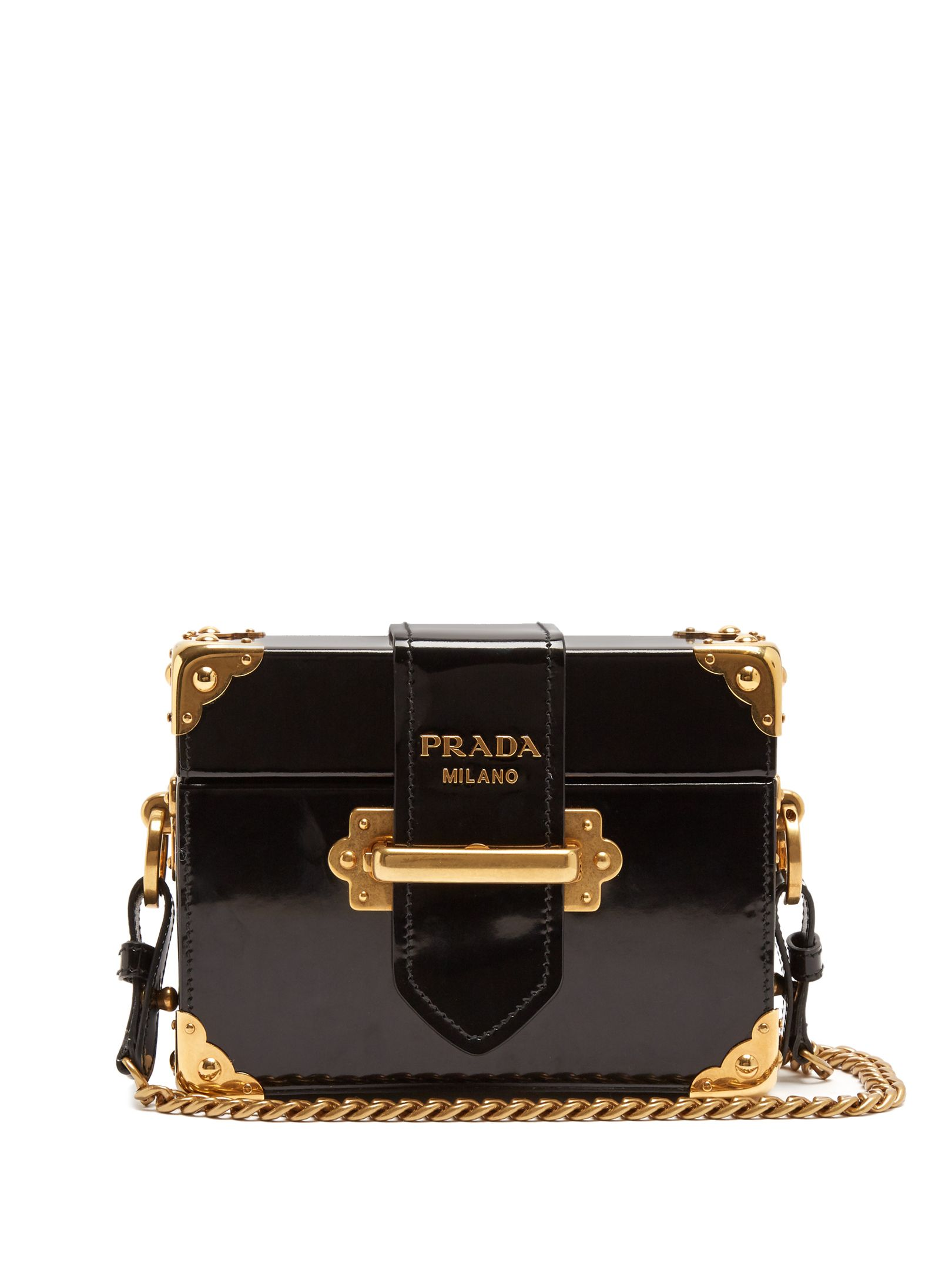 33d6e88ec25f Click here to buy Prada Treasure Trunk leather box bag at MATCHESFASHION.COM