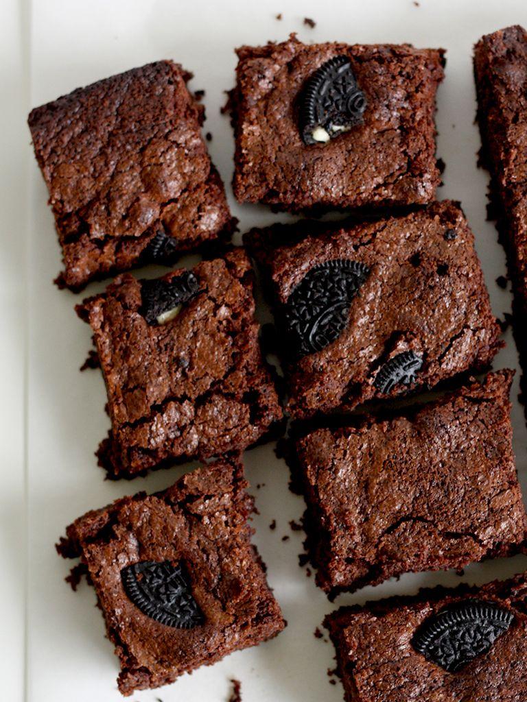 Recept: Brownies met oreo