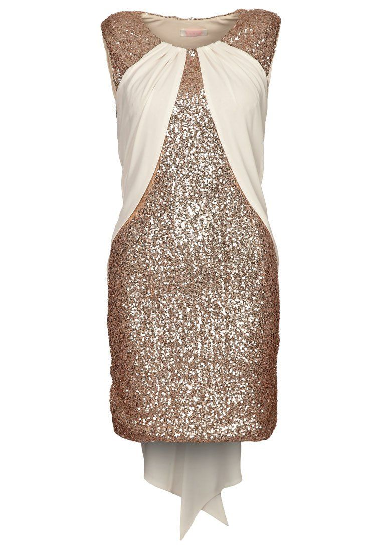 THE WONDERLUST - Cocktailkleid/festliches Kleid - cream/gold | Nye ...