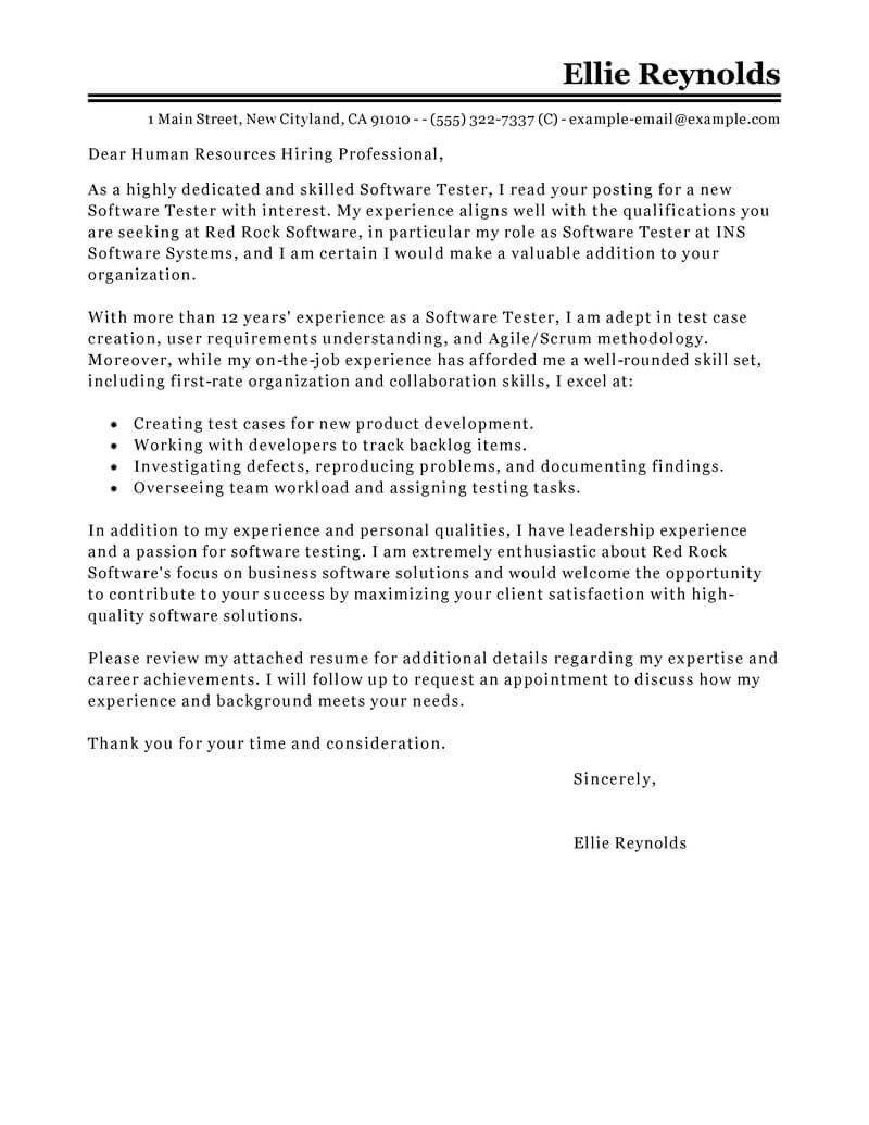 Cover letter for qa tester position custom dissertation proposal ghostwriters sites for university
