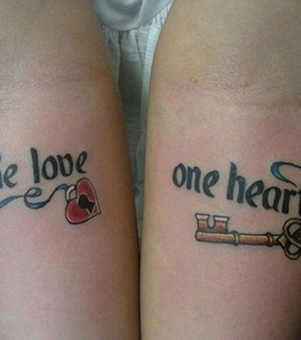 eine liebe ein herz ein schl ssel und ein schloss tattoo pinterest erste liebe. Black Bedroom Furniture Sets. Home Design Ideas