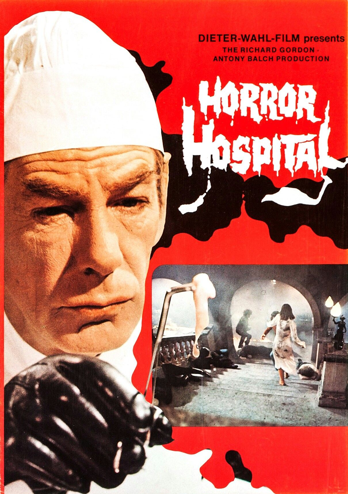 Horror Hospital (1973) Horror movies scariest, Horror