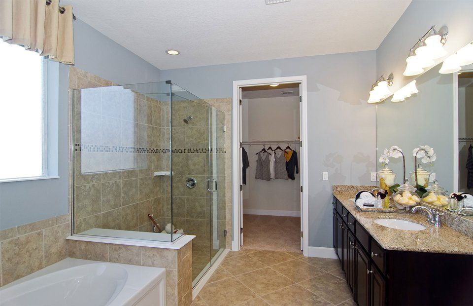 A Closet Connected Right To The Bathroom Makes Your