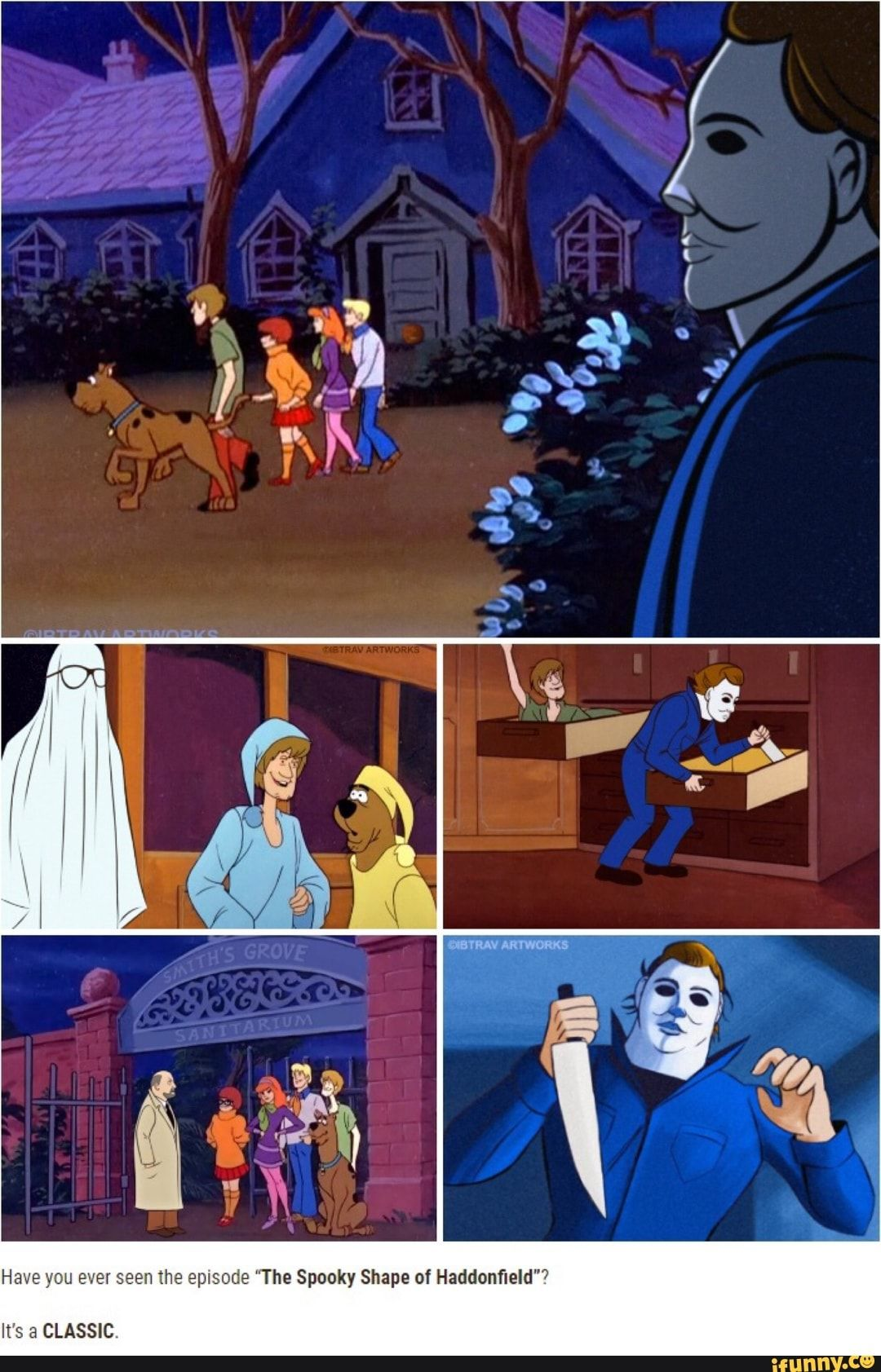 """Have you ever seen the episode """"The Spooky Shape of"""