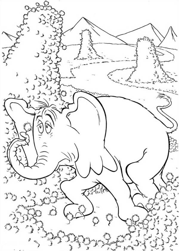 Horton Look Tired Coloring Pages Bulk Color Coloring Pages Coloring Pages For Kids Online Coloring