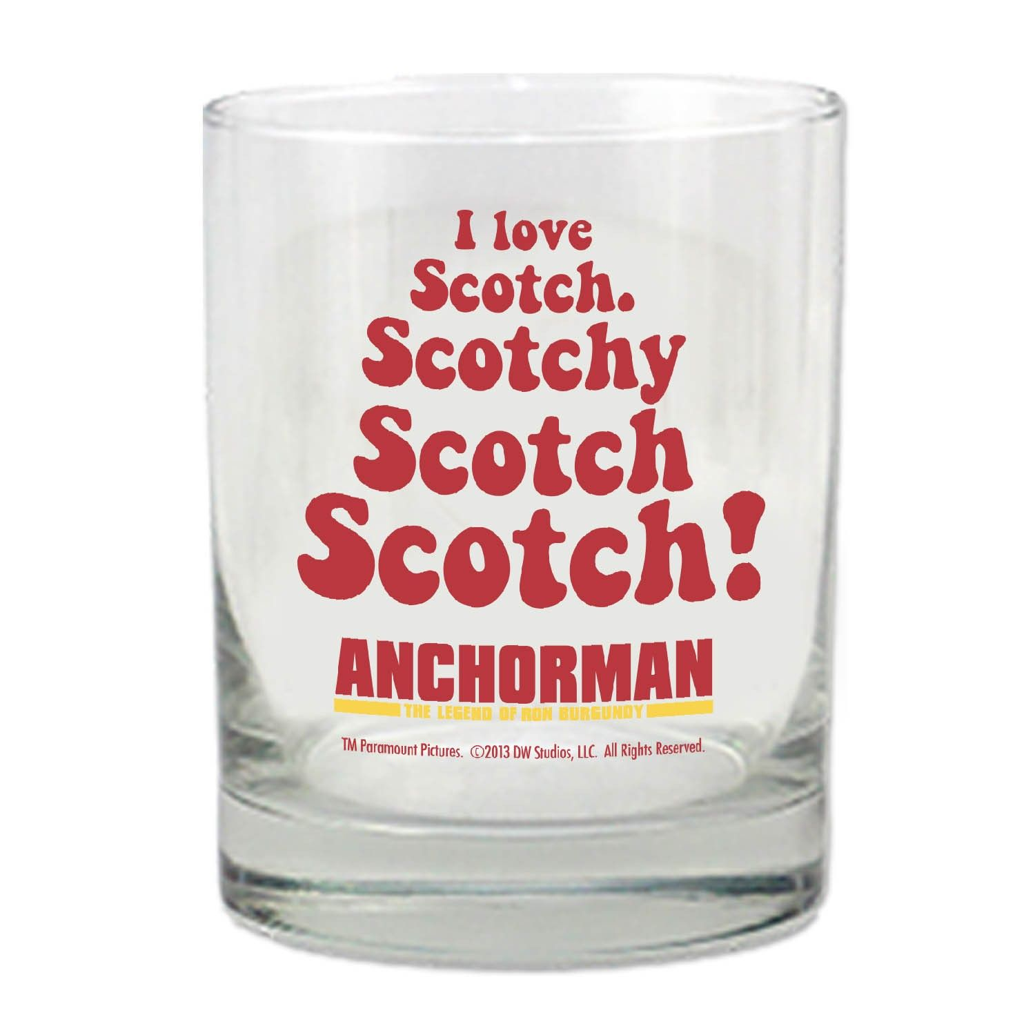 dear santa a set of these and some tasty scotchy scotch scotch to go in them thanks newseum online store anchorman scotch glass pinterest today - Scotch Glass
