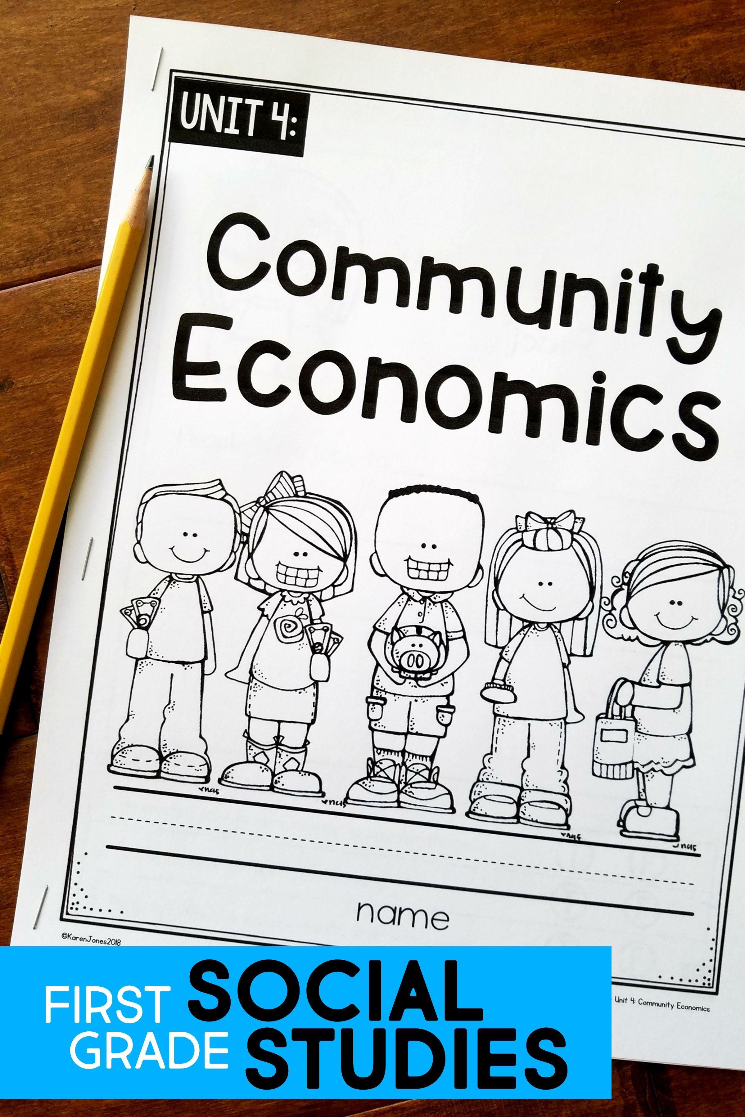 1st Grade Economics Unit Teachingsocialstu S In