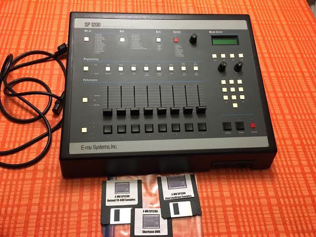 matrixsynth emu sp1200 sampling drum machine e mu drum machine drums electronic music. Black Bedroom Furniture Sets. Home Design Ideas