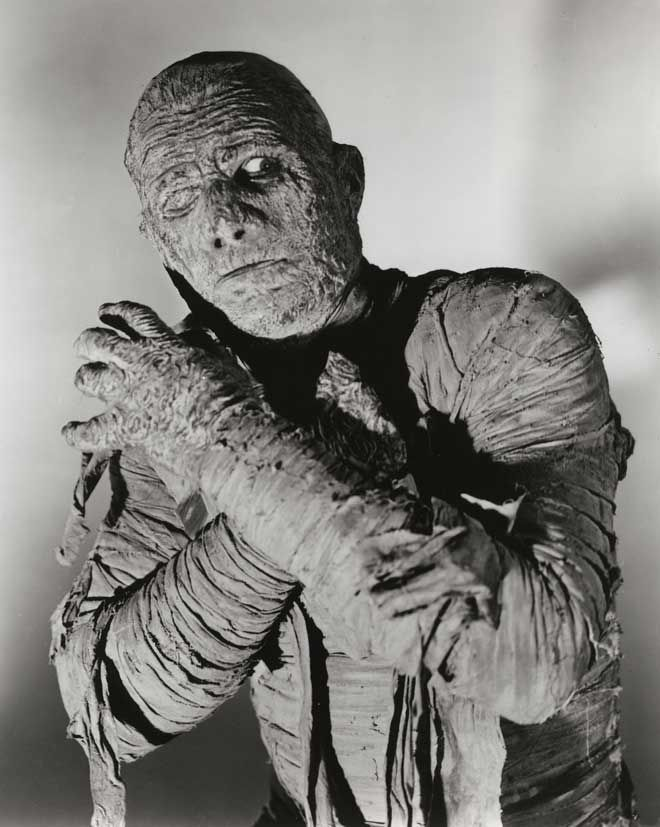 Lon Chaney, Jr. as Kharis the Mummy | Classic monster movies ...