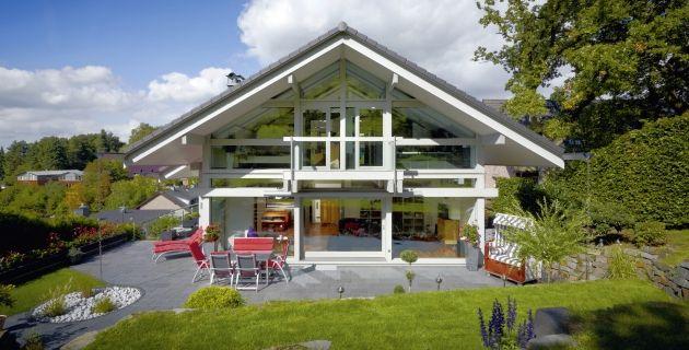 Innovatieve Architectuur: Geprefabriceerde Droomhuizen | Huf, Haus ...