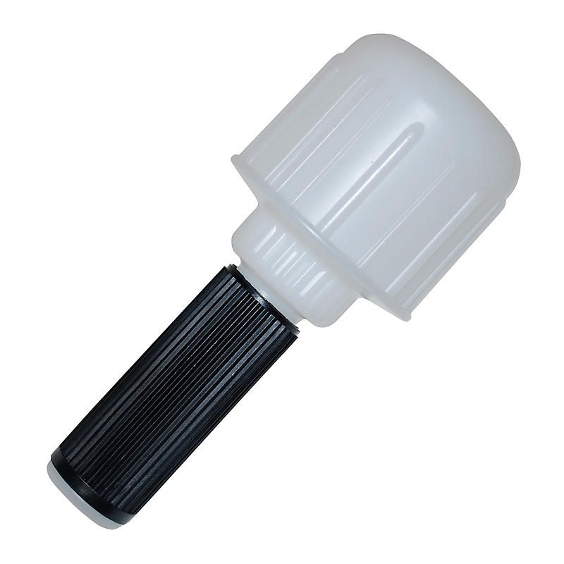 Plastic stretch wrap dispenser handle works with 2 3
