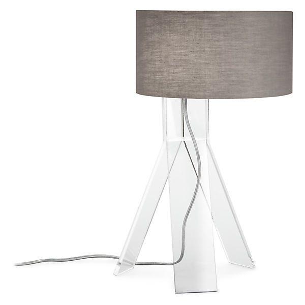 Kip Acrylic Table Lamp Living Room Lighting Modern Lighting