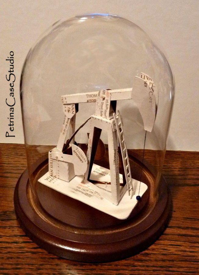 Oil Pump Business Card Sculpture   Business Card Sculptures ...