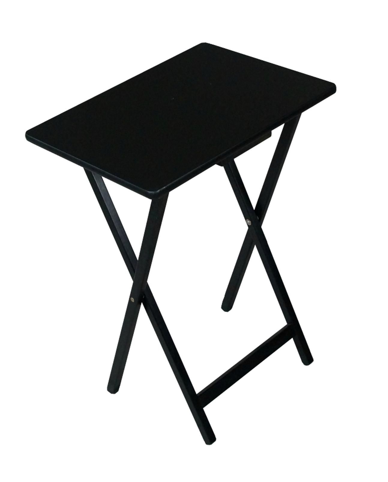 Folding Wooden Tv Tray Table Black Furniture Mattresses Small Space Furniture Folding Furniture Wooden Tv Trays Tv Trays Tv Tray Table
