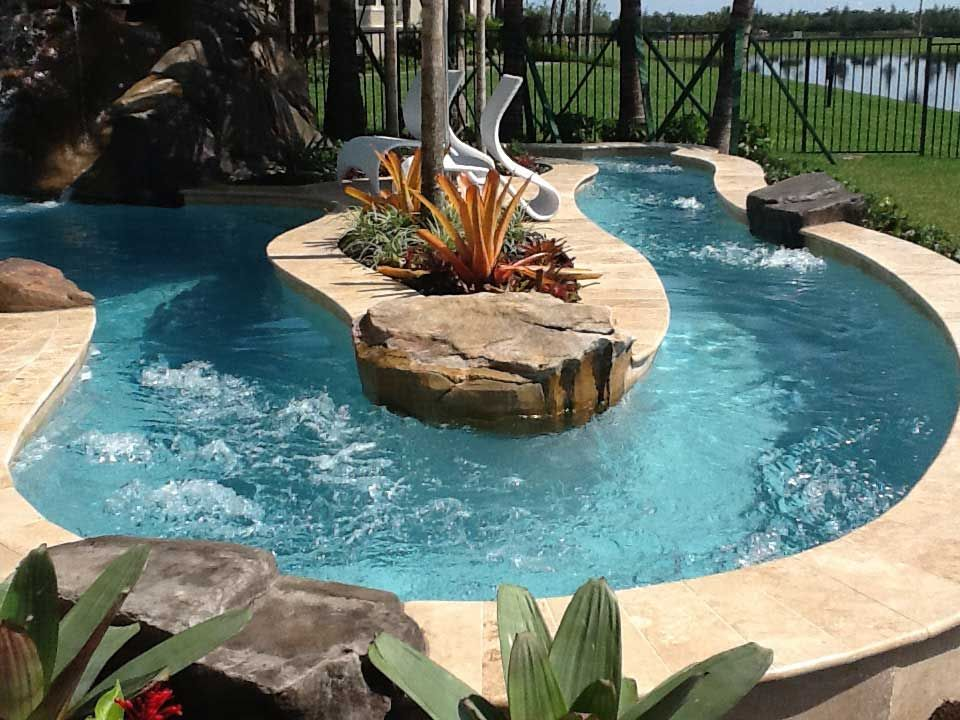 Image result for backyard lazy river cost | Lazy river ...