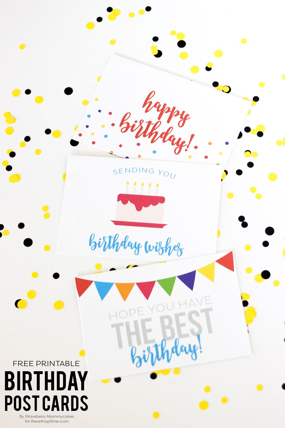 Free Printable Birthday Cards Easy