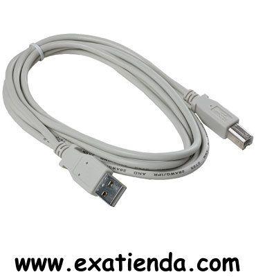 Ya disponible Cable USB 3m 2.0   (por sólo 8.95 € IVA incluído):   -Cable USB 2.0 -Longitud:3m Garantía de fabricante  http://www.exabyteinformatica.com/tienda/288-cable-usb-3m-2-0 #usb #exabyteinformatica