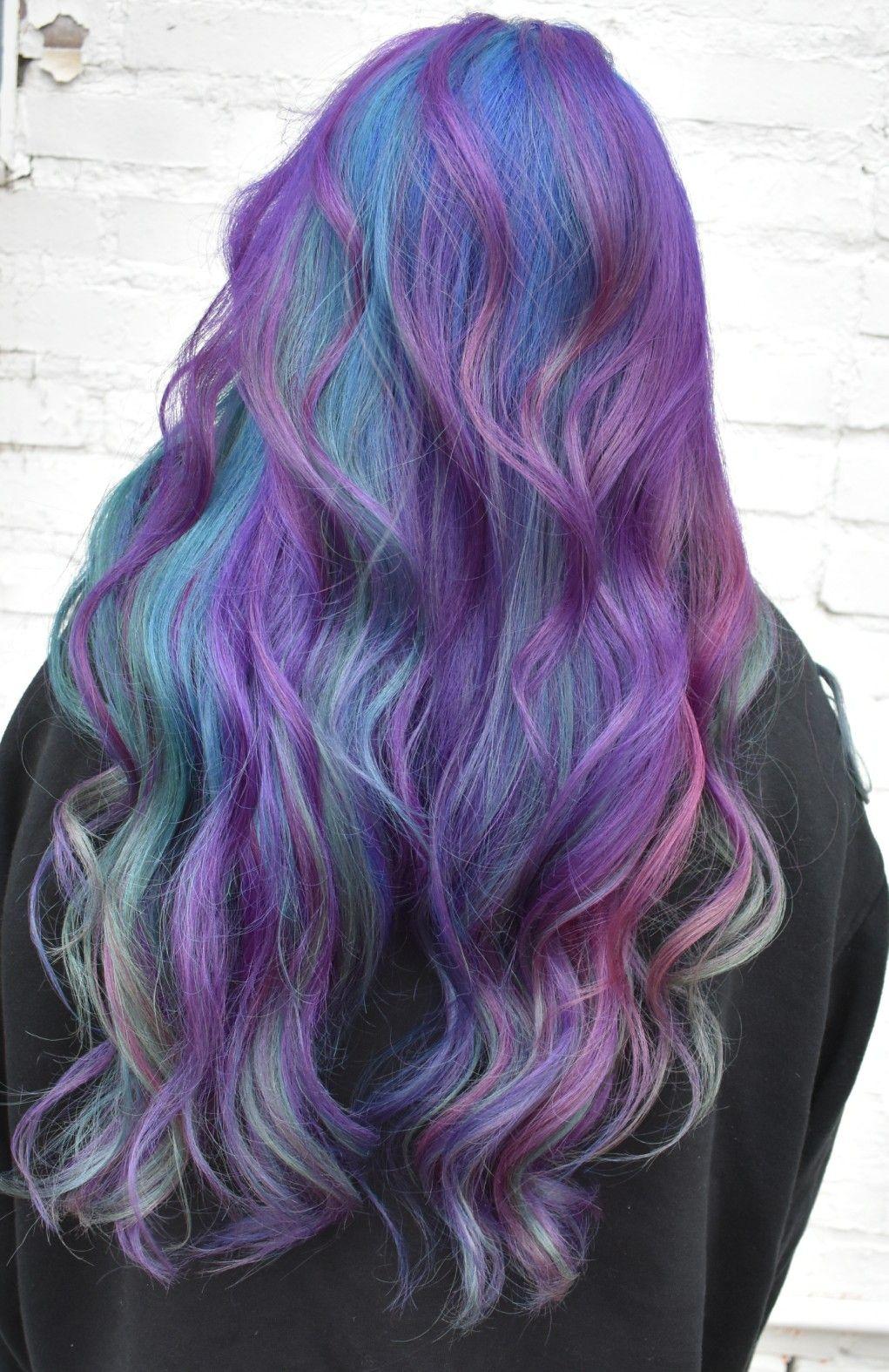 Pin By Hair By Angelah On Vivid Hair Color Pinterest Hair