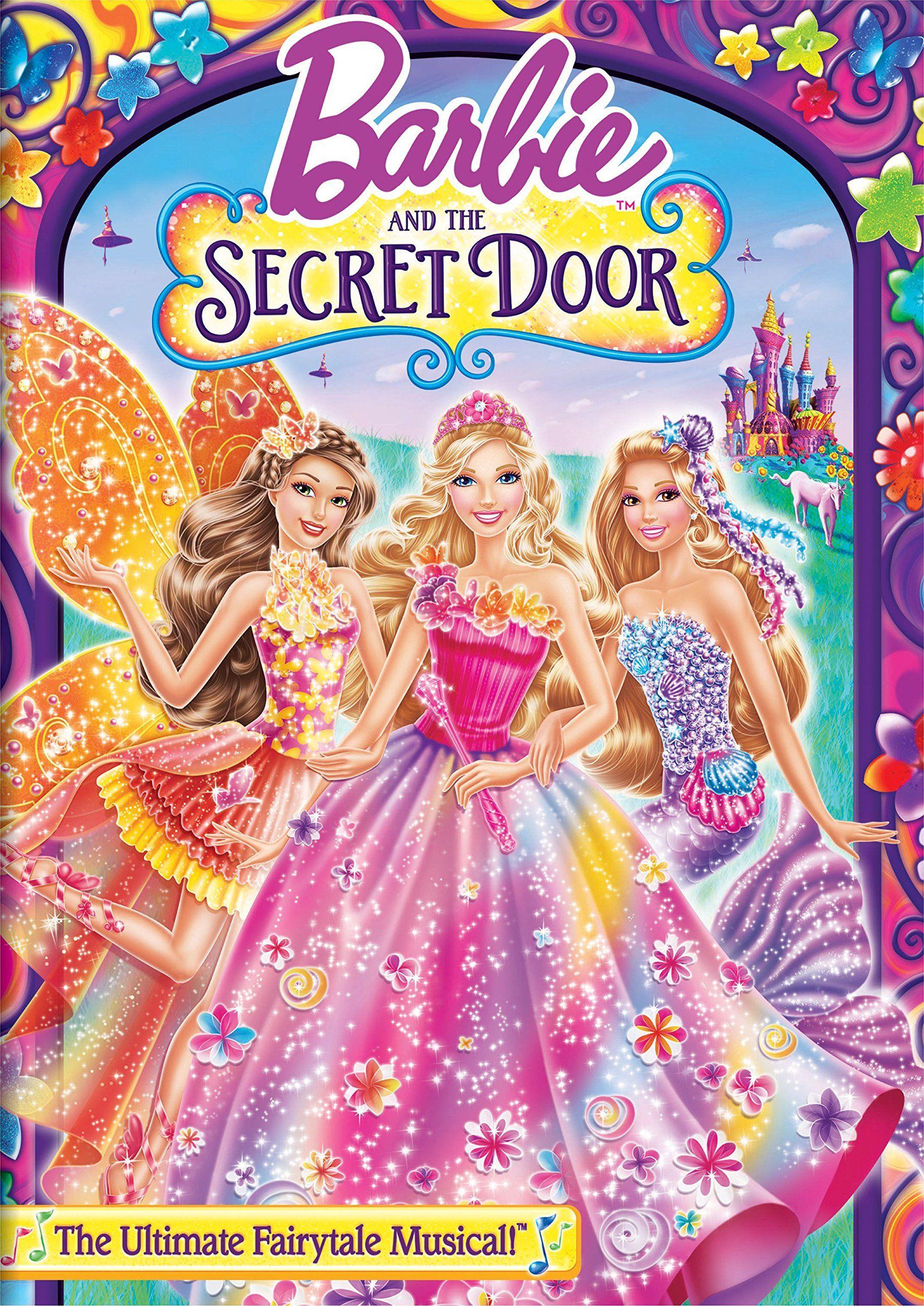 Amazon Com Barbie And The Secret Door Dvd Kelly Sheridan