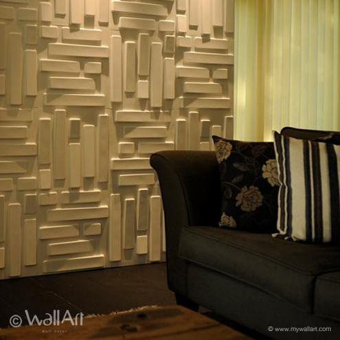 WallArt   Decorative Interior 3D Wall Panels   Textured Wall Decor Designs