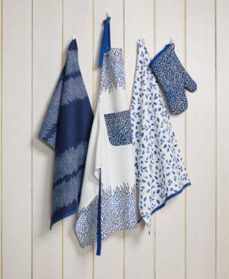 Martha Stewart Collection 3 Pc Stockholm Kitchen Towel Set