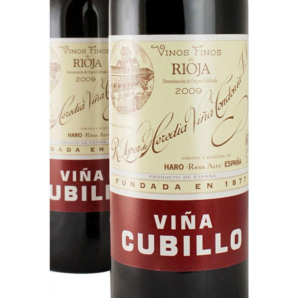 2009 R Lopez De Heredia Vina Cubillo Crianza 19 Recommended By F W Wine