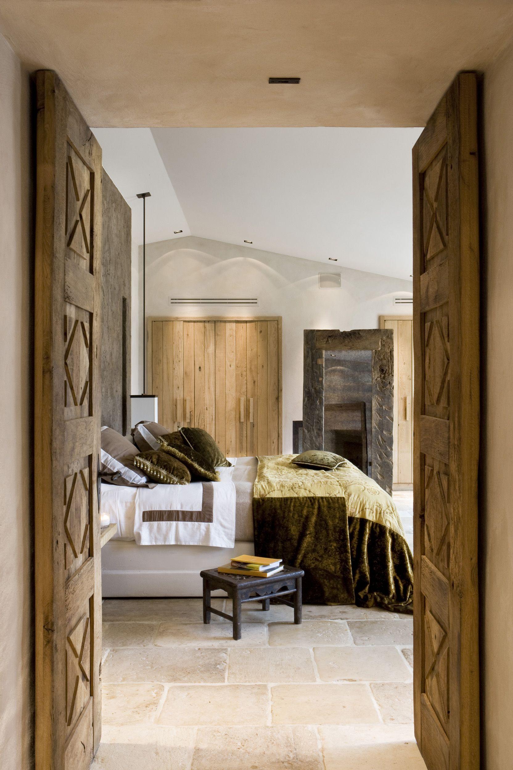 Habitaci n r stica habitaciones for Dormitorio principal m6 deco