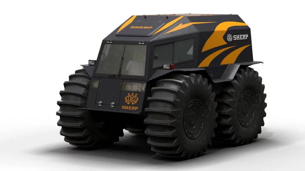 Sherp ATV amphibious small tank | Carros e Tanque
