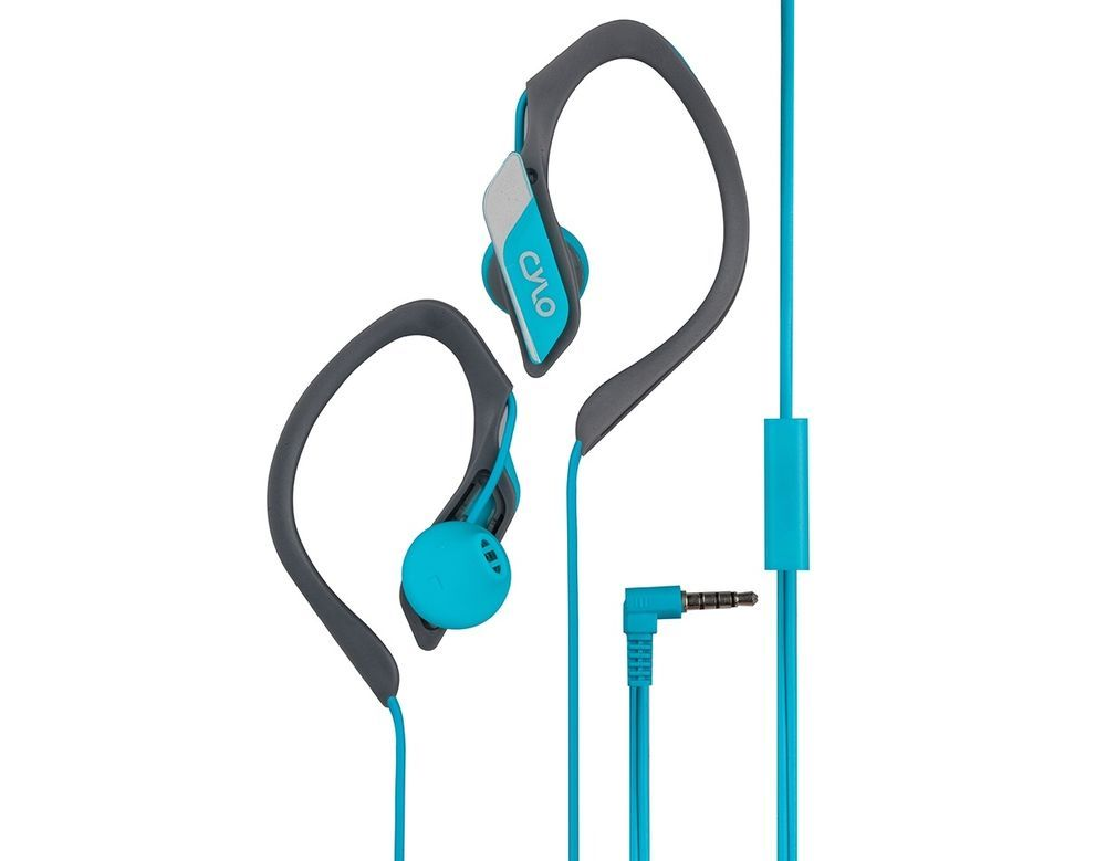 50b972910ce CYLO Stamina Wired In-Ear, Over-Ear, Earbuds/Earphones/Headphones, Blue # Cylo