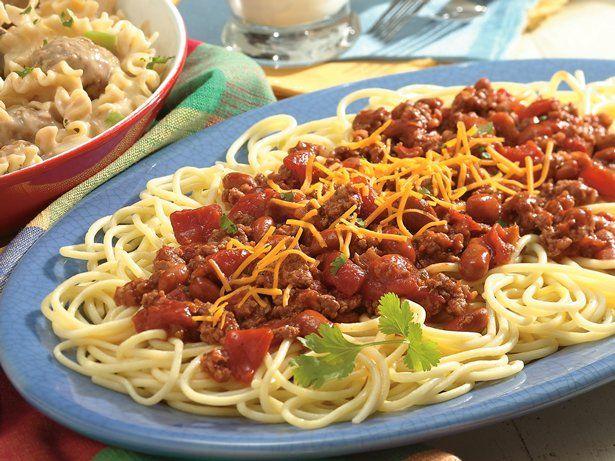 chili spaghetti   recipe   chili spaghetti, recipes, easy