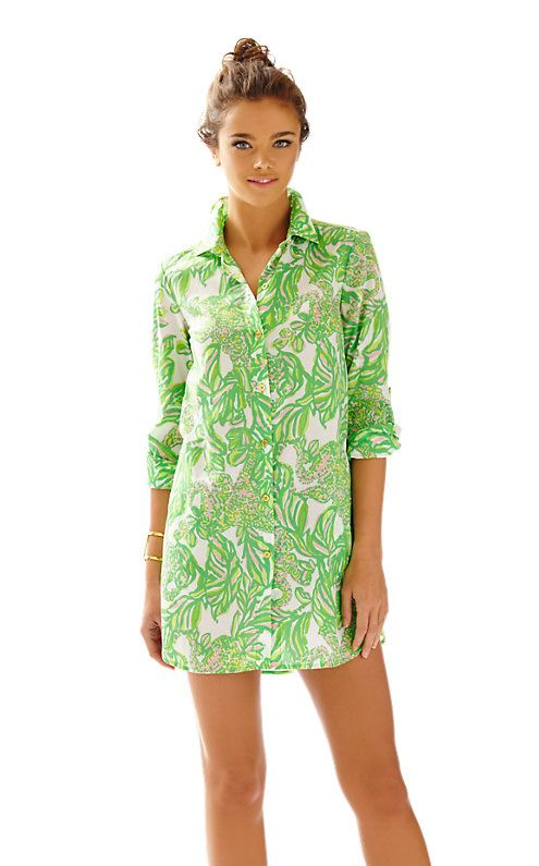 5e9f61332cc The Jupiter Island tunic is a printed tunic perfect with shorts or over  your bikini. This is the ultimate vacation tunic as it has so many end uses.