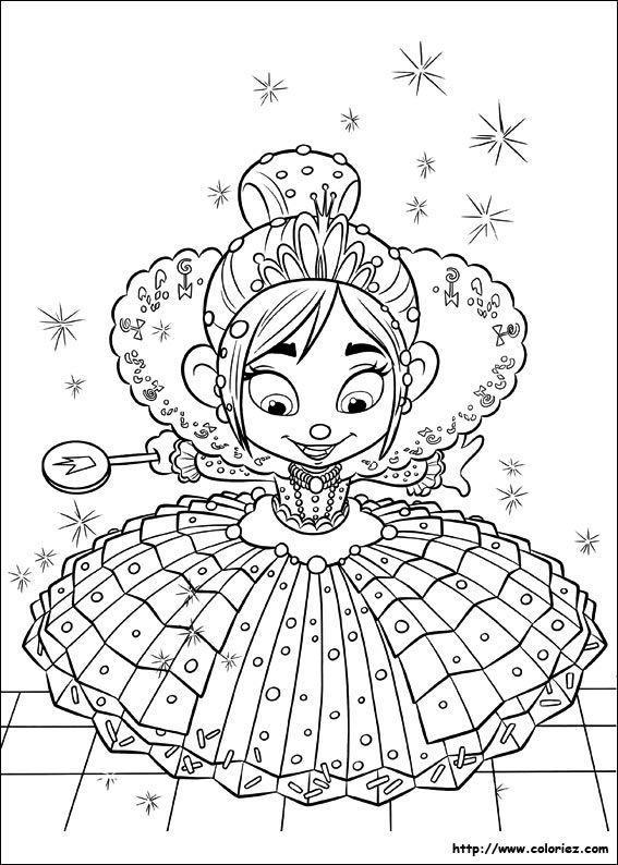 Wreck It Ralph 2from The Gallery Back To Childhood Disney Coloring Pages Princess Coloring Pages Cool Coloring Pages