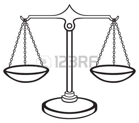 Stock Vector Justice Scale Ceiling Lights Candle Holders