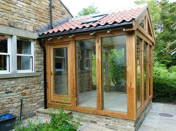 Oak extension dream home pinterest extensions porch for Front porch extension
