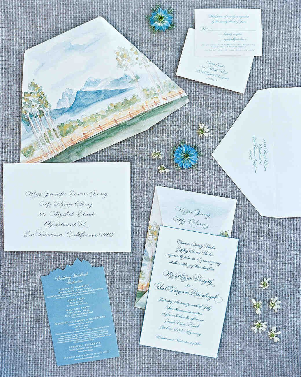 29 Ideas for Unique Wedding Invitations | Wedding Details