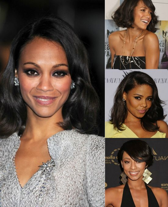 Chic winter hairstyles for black women with black hair extensions chic winter hairstyles for black women with black hair extensions pmusecretfo Choice Image