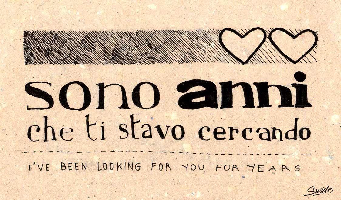 Learn romantic italian love phrases with beautiful