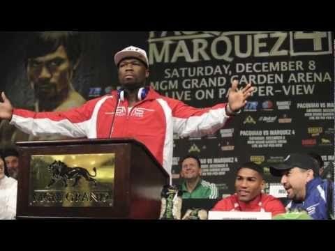 50 Cent Prepares For Gamboa Fight