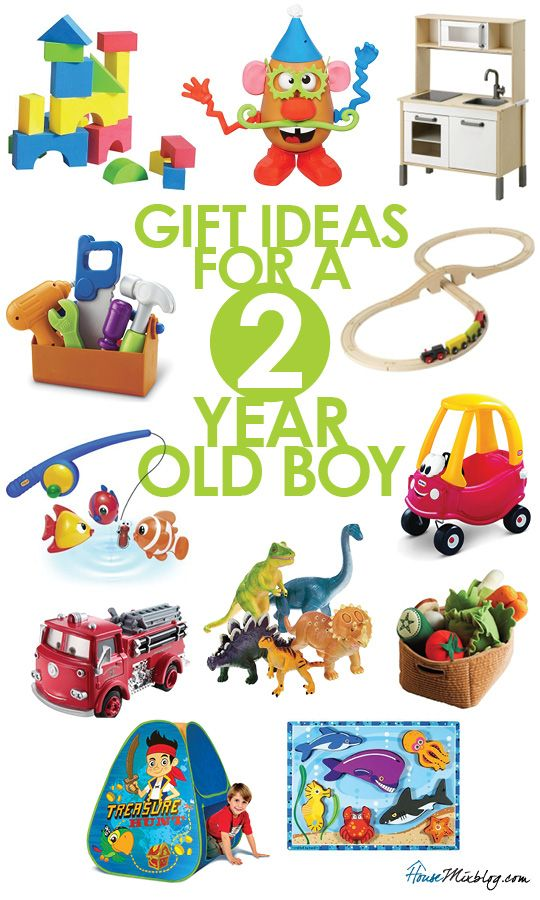 Gift Ideas For 2 Year Old Boys