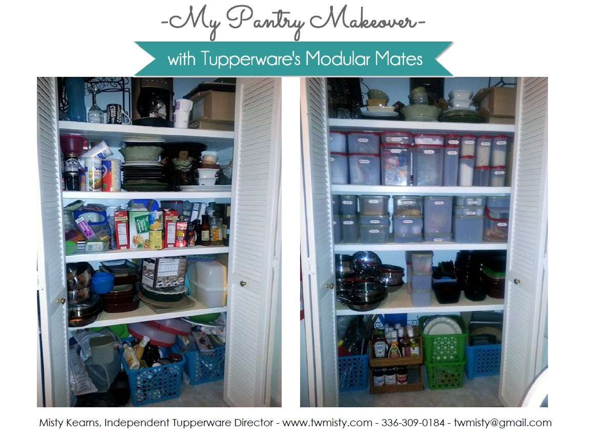 My final kitchen pantry makeover before & after pics using ...