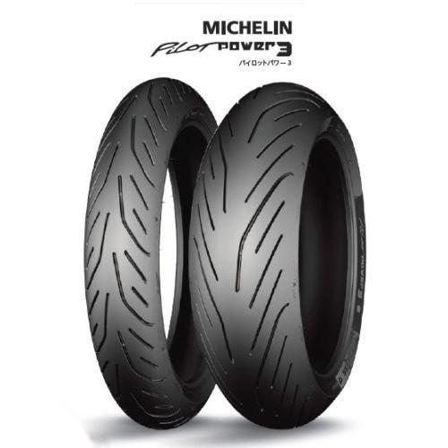 Michelin Pilot Power 3 180 55zr17 M C 73w Tl Tire Yamaha Mt 07 Fz 07 Fz09 Michelin Tire
