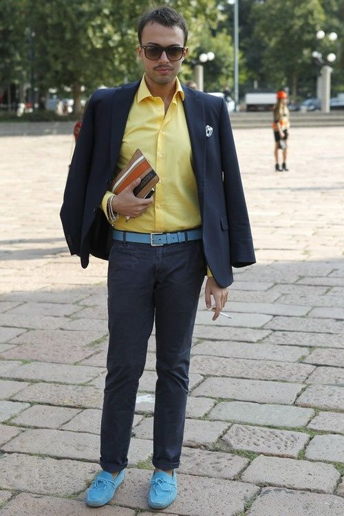 men\u0027s yellow dress shirt outfit idea 3