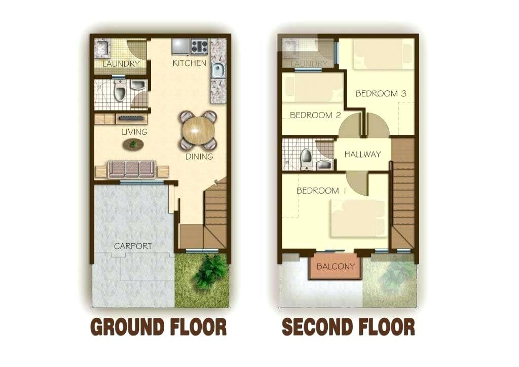 2 Bedroom House Plans Philippines 2 Storey House Design House Plans Two Story House Design
