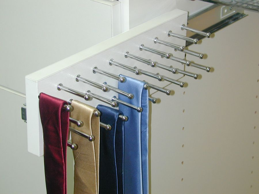 our tie racks hold 27 ties and are extremely effective and efficient