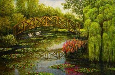 Paisajes para pintar cuadros sencillos mandalas y - Dibujos sencillos ...