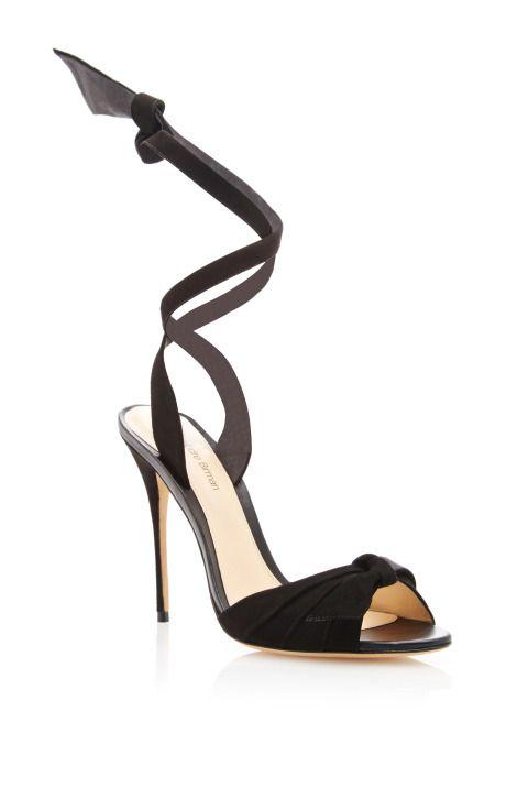 Alexandre Birman Suede Wrap-Around Sandals discount very cheap n2a4co