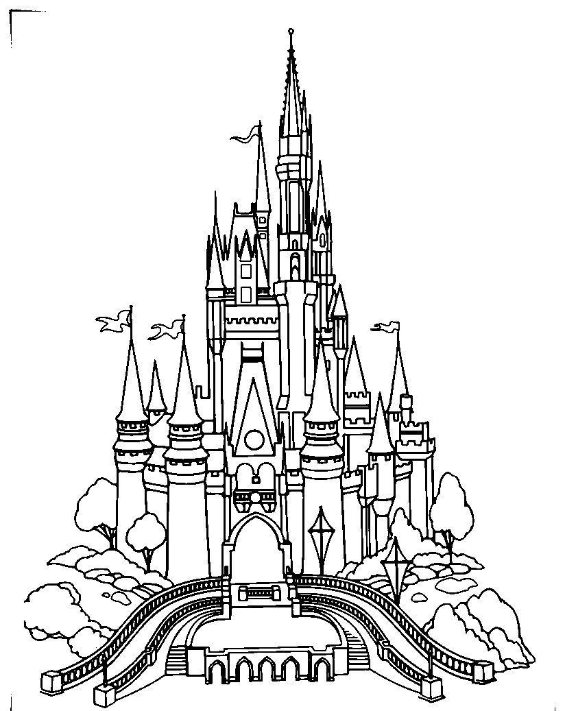 Best Castles Coloring Pages For Kids D2g Printable Castles And Knights Coloring Pages For Kids Disney Ilustrasi Gambar