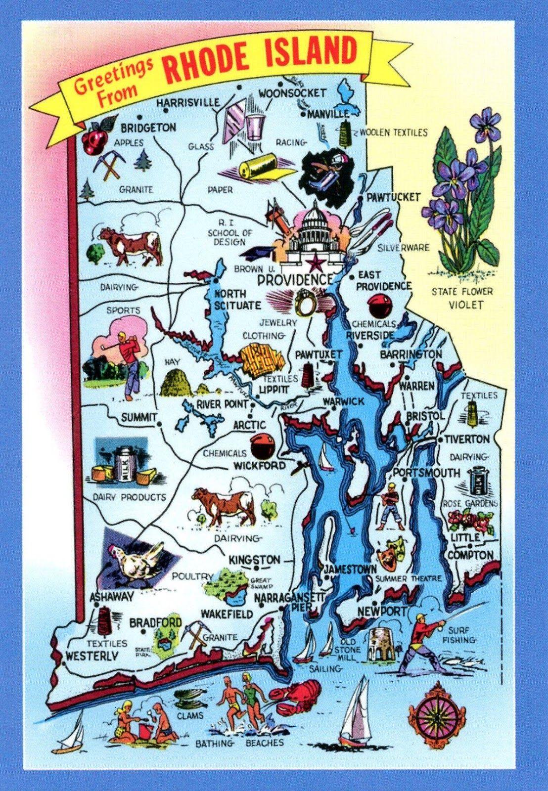 Rhode Island - Vereinigte Staaten von Amerika / United States of ...